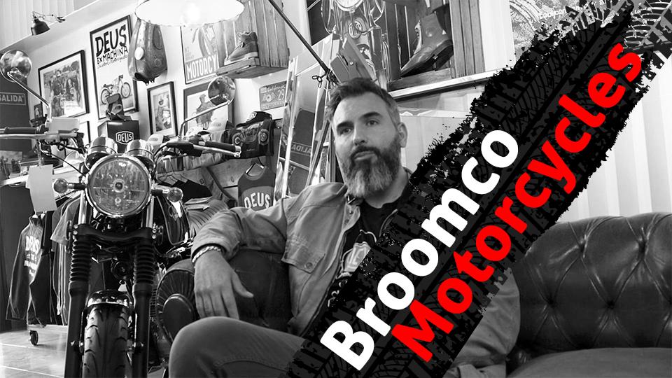 Broomco Motorcycles Pit Stop de Riders Experience