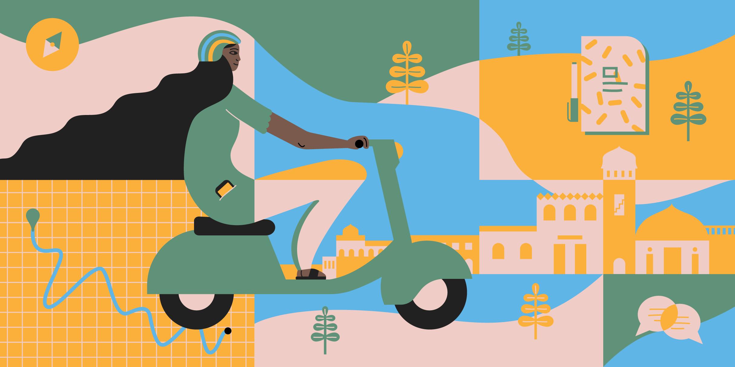 Diseñando Google Maps para las motos