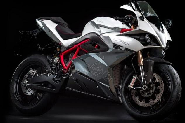 Moto deportiva eléctrica