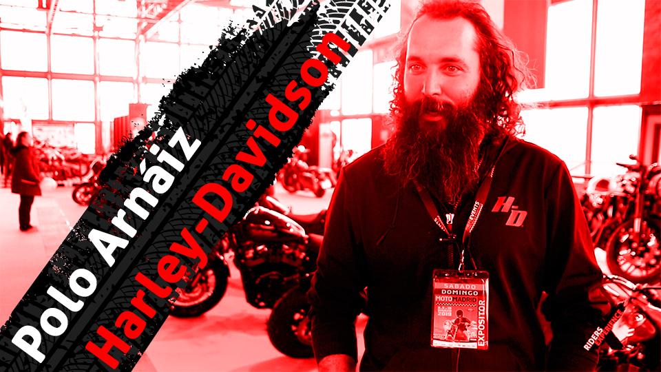 Polo Arnáiz y Harley-Davidson